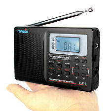 0 Profits Portable FM Radio stereo/MW/SW DSP Radio World Band Receiver+Track MD