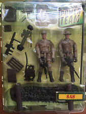 NIB 1:18 POWER TEAM ELITE SAS 2 FIGURES WORLD PEACEKEEPERS SET 1/18 HUMVEE SAS