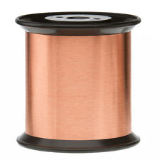 "42 AWG Gauge Enameled Copper Magnet Wire 5.0 lbs 0.0026"" 155C Natural MW-79-C"