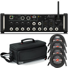 Behringer X Air XR12 12-Input Digital Mixer with Gator Padded Carry Bag & Cables