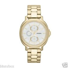 Fossil ES3354 Chelsey Multifunction Stainless Steel Womens Watch - Gold-Tone