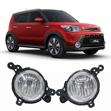 Fog Lamps ,Switch, Wiring harness Complete Kit ( fits 2014 2015 2016  Kia Soul )