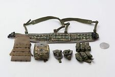 1/6 Dam British Army Afghanistan MTP Molle Belt w/ Pouches *TOY*