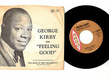 """RARE D.J.COPY"" SOUL/R&B.GEORGE KIRBY.FEELING GOOD /NO MORE.U.S.ORIG 7""+PIC/SL.E"