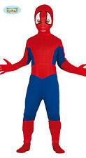 Costume Uomo Ragno Bambino TG 10/12 Travestimento Spiderman Carnevale