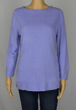 Karen Scott NEW Womens Purple Crewneck Solid Pullover Sweater Top Size M