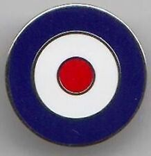 VESPA,THE WHO, RAF  SCOOTER 1inch round ENAMEL  PIN BADGE BUY 2 GET 3 of these