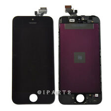 LCD Display Screen + Touch Digitizer Glass Assembly for Apple iPhone 5 (Black)