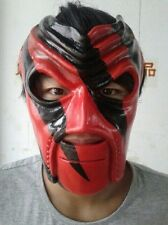 Debut De Kane máscara facial completa Wrestling Halloween réplica Fancy Dress Costume