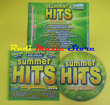 CD SUMMER HITS 2006 compilation BOB SINCLAR STUDIO 3 SUPERMODE no lp mc dvd(C15)
