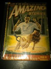 Amazing Stories September 1952 Classic Nude GG Cover