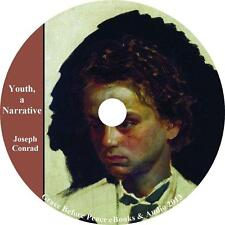 Youth, a Narrative, Joseph Conrad Autobiography Audiobook unabridged on 1 MP3 CD