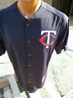 Majestic Authentic Mens MLB Minnesota Twins Cool Base BP Jersey NWT M