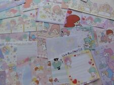 LITTLE TWIN STARS MEMO Note Paper kawaii stationery gift her stationary sanrio