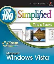 Top 100 Simplified Tips and Tricks Ser.: Windows Vista by Paul McFedries...
