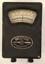 Antique Weston Electric Instrument Corp. Galvanometer Model 440 #4875 VTG
