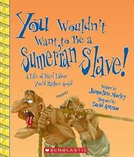 You Wouldn't Want to Be a Sumerian Slave!: A Life of Hard Labor You'd -ExLibrary