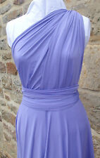 Twist Wrap Infinity Dress, Ultimate Party Frock, Lilac, Other colours Available