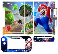 Skin Sticker Cover Decal for Nintendo Wii U Console & Controller 054 Mario