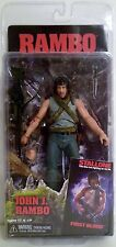 "JOHN J. RAMBO Sylvester Stallone First Blood Movie 7"" Figure Series 1 Neca 2013"