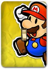 Super Mario Metal Switch plate Wall Cover Lighting Fixture Playroom decor SP758