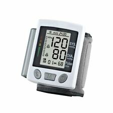 Digital Wrist Blood Pressure Monitor Cuff Home Measurement Checker Machine
