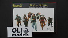 1/72 Modern Militia (Somalian and Asian) FIGURES SET - Caesar Miniatures 63