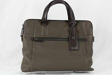 Tumi Beacon Hill Branch Slim Unisex Laptop-Business/Brief Gray/Brown #68516STM