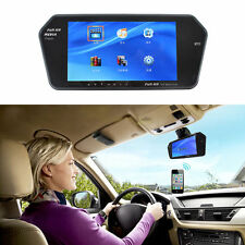 HD 7 INCH Car (MP5) Player Mirror Monitor High Resolution Rear View BlueTooth