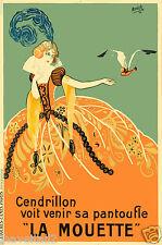 ANNICK CENDRILLON   LA MOUETTE  Poster 1924 13 x 19 giclee print