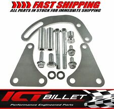 BBC Power Steering Pump Bracket Billet Adjustable LWP 454 Big Block Chevy 497