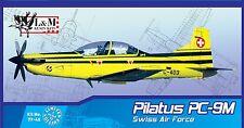L&M Resin 1/48  Pilatus PC-9 M  Swiss AF + bonus