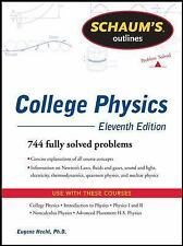 Schaum's Outline of College Physics, 11th Edition (Schaum's Outlines) by