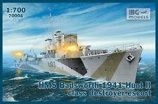 HMS badsworth-WW II marine royale chasse ii-class destructeur 1/700 IBG