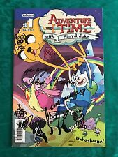 Adventure Time 1 signed with sketches Pen Ward Ian J Q Jeremy Shada with COA