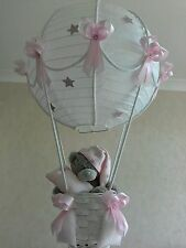 Hot Air Balloon Light shade in pink   Made to order
