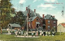 A View of Children Playing in the Playground, Children's Home, Easton PA 1912