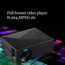 5000 Lumens HD 1080P Home Theater Projector 3D LED Portable HDMI VGA USB US UY