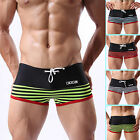 New Sexy Mens Swimwear Trunks Swimming Bathing Boxer Brief Beach Shorts S M L XL