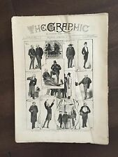 """""""THE GRAPHIC"""" (A Beautifully Illustrated British Weekly Newspaper)-Feb. 26, 1881"""