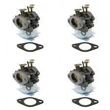 (4) CARBURETORS for Tecumseh 640349 640052 640054  Lawn Mower Generator Tiller