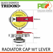 Genuine *TRIDON* Radiator Cap w/ Lever For Holden Commodore 6 Cyl VL Incl. Turbo