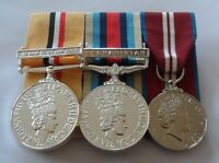 Iraq Op Telic, Afghanistan, Queens Diamond Jubilee, Mounted Medals, Full Size
