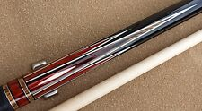 New Custom Lucasi Pool Cue LZC39 8 Points High/low Cocobolo Bacote BLK Leather
