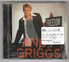(GY817) Andy Griggs, Freedom - 2002 CD