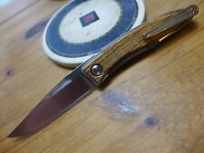 Chris Reeve Knives Mnandi - S35VN - Bocote Inlay - Left Handed