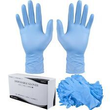 1000PCS Large Size Nitrile Disposable Gloves Powder Free Non Latex Vinyl Exam