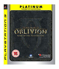 The Elder Scrolls IV: Oblivion -- Game of the Year Edition (Platinum) (Sony...