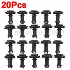 20Pcs Air Deflector Front Rear Bumper Retainer Fastener Clip For Chevrolet/GM
