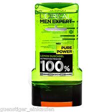 300ml Loreal Men Expert Pure Power Lemon Shower gel 100% NEW Mens
